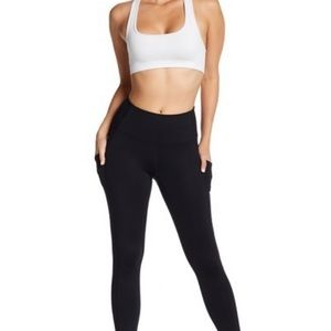 All black zella leggings with pockets